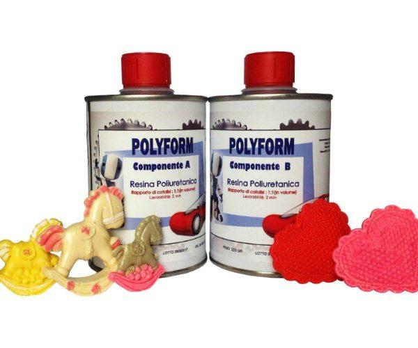 """POLYFORM"" POLYURETHANE CASTING RESIN – 1000 GR [2,20 LB]"