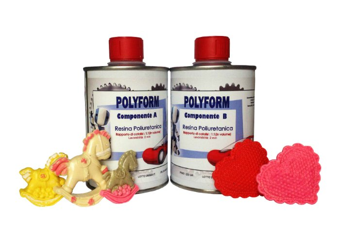 """POLYFORM"" POLYURETHANE CASTING RESIN – 2000 GR [4,40 LB]"