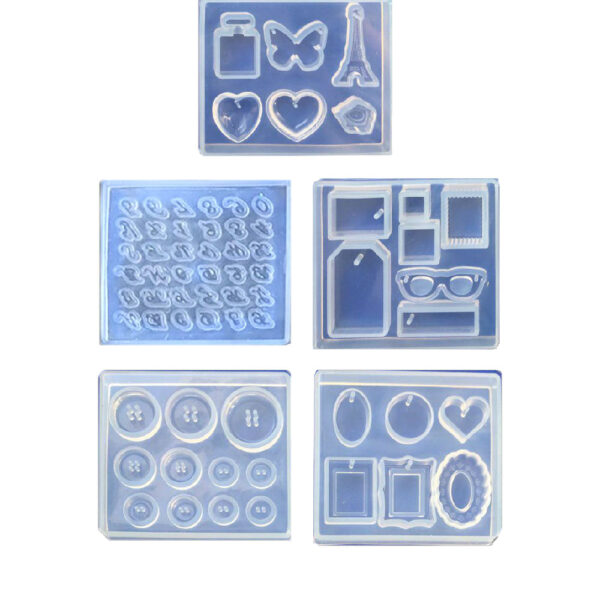 5-MOULDS SET