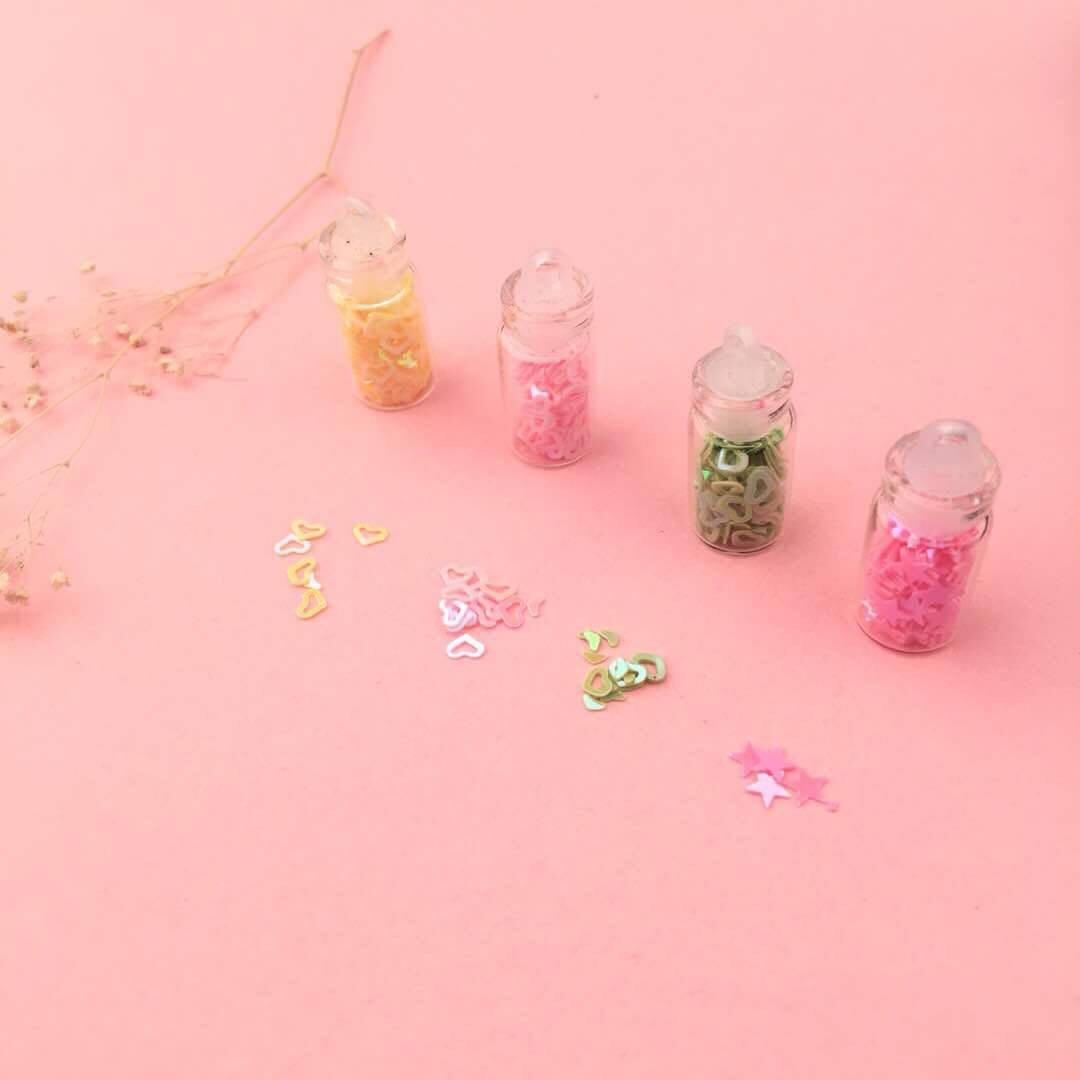 48 Colours Glitters
