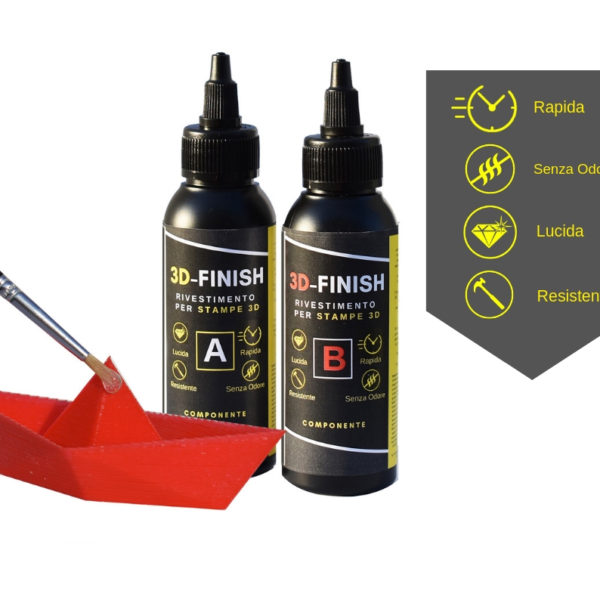"3D - FINISH ""Fast"" Coating for 3D PRINTS 150 ML [5,27 OZ]"