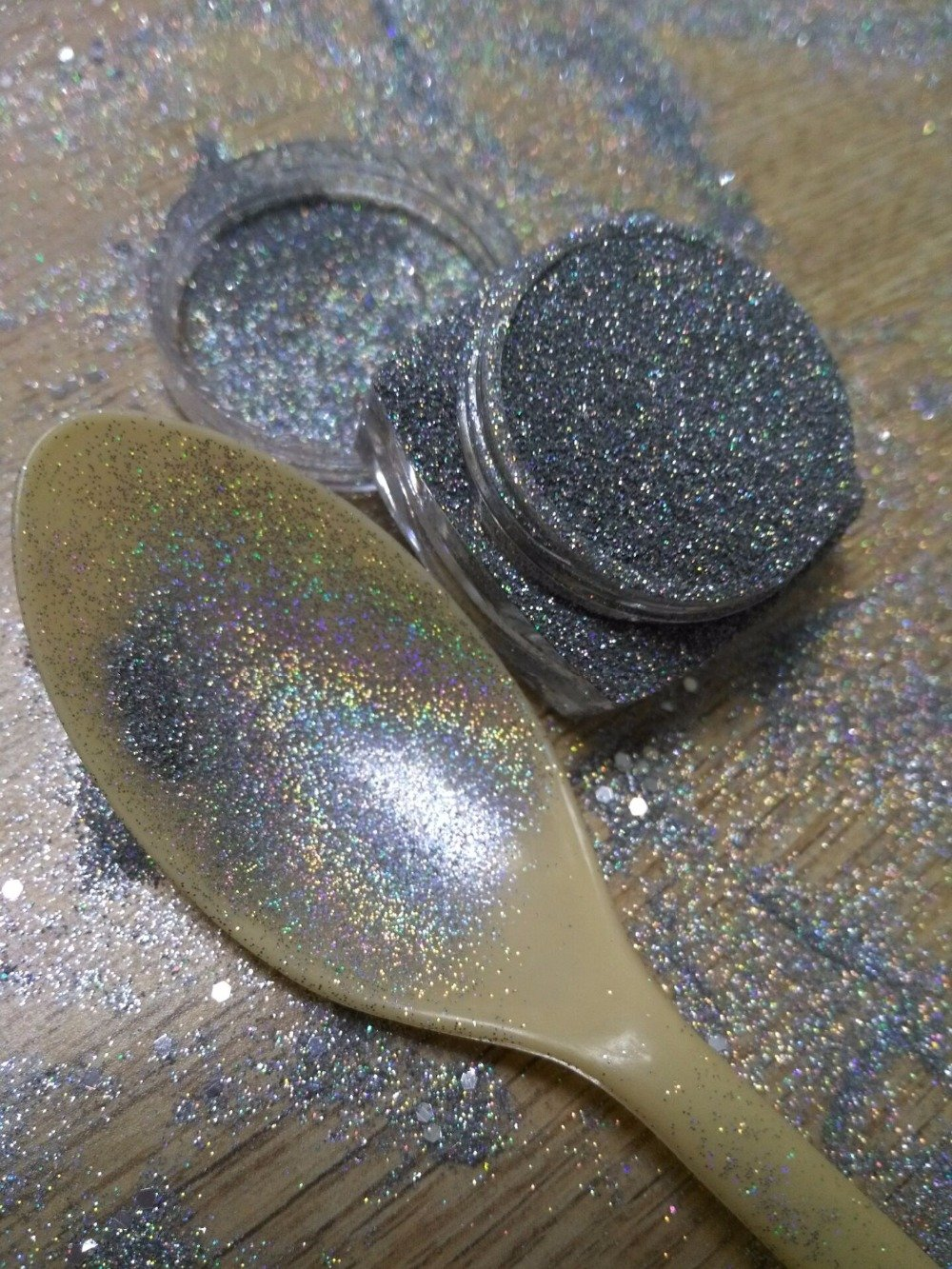 Holographic Silver Glitter