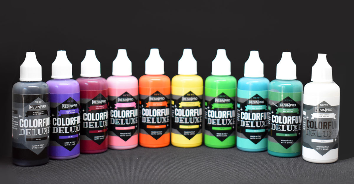 """COLORFUN DELUXE"" RESIN COLOUR  ✦ COVERING EFFECT ✦"