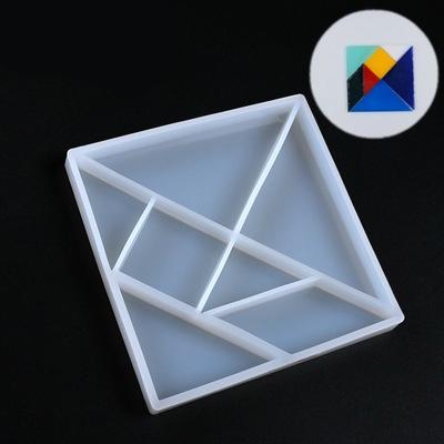 Mosaic-like Silicone mould