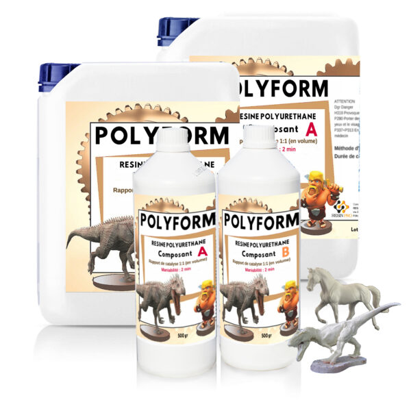 """POLYFORM"" POLYURETHANE CASTING RESIN"