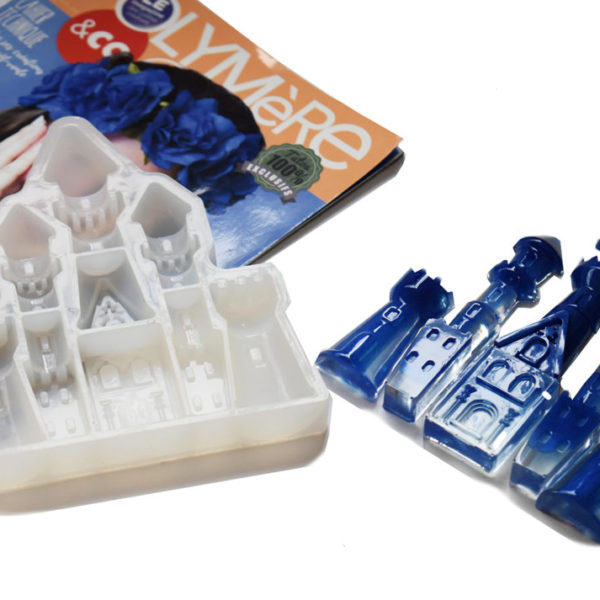 Castle-shaped Silicone mould