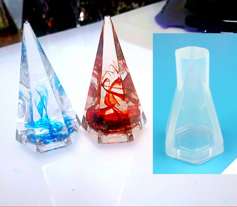 Crystal Cone Silicone mould
