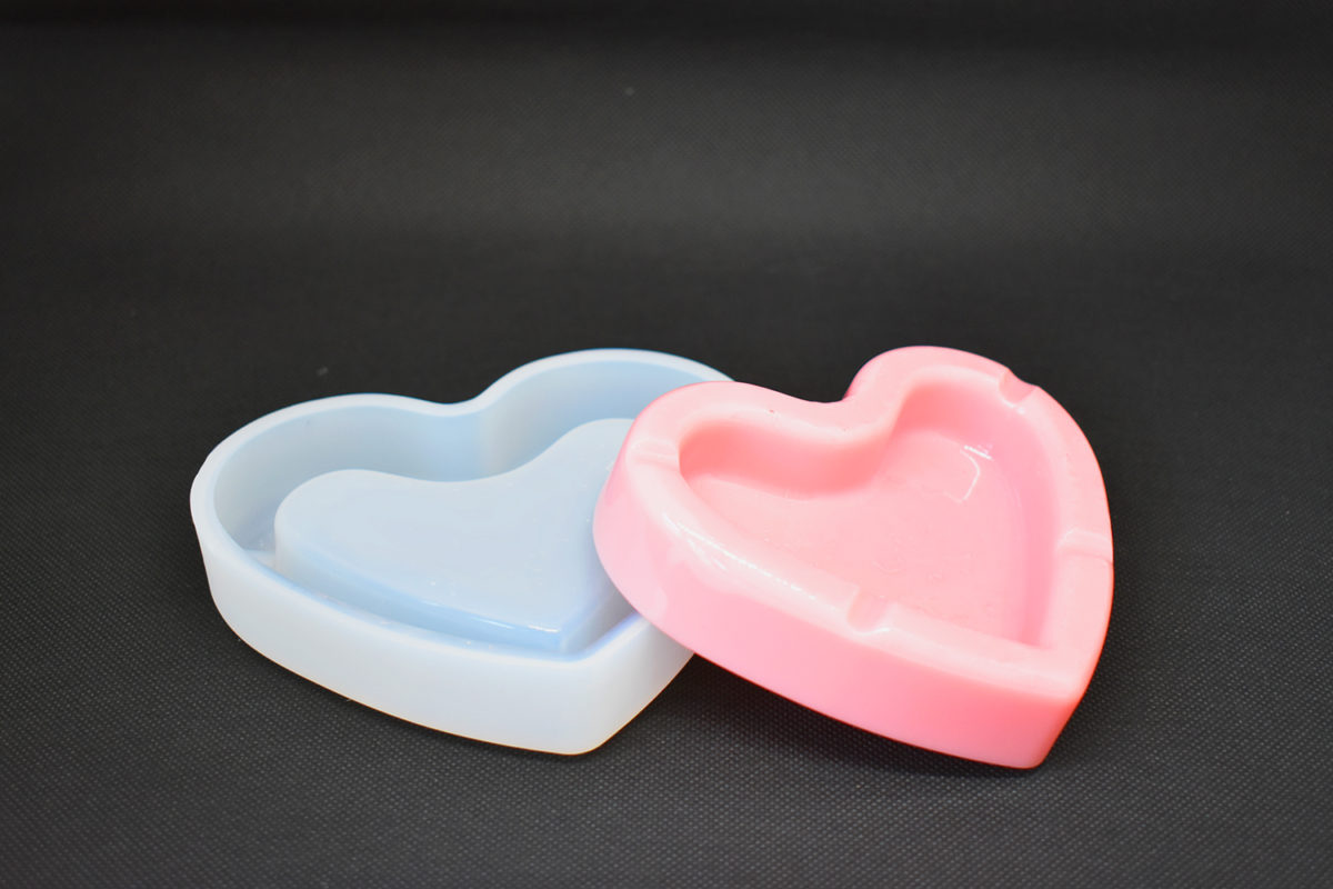 Heart-shaped Jewellery Box Silicone mould