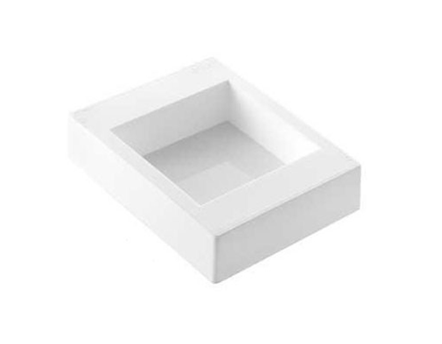 Professional rectangular silicone mould for handcrafts
