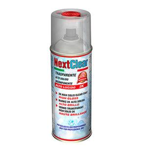 NextClear Lucido - Trasparente 2k in bomboletta spray Bicomponente (Monouso)  da 400 ml