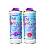 ART PRO Resina epossidica trasparente Atossica alta viscosità 1.6 KG