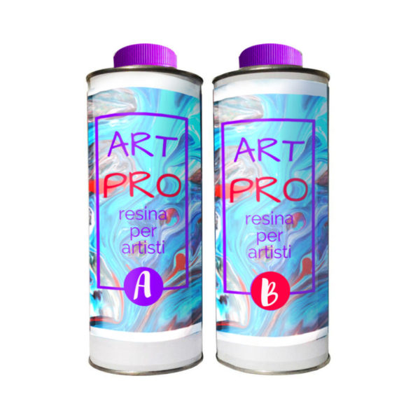 ART PRO NON-TOXIC TRANSPARENT RESIN FOR ARTISTS 1.66 KG [3,65 LB]