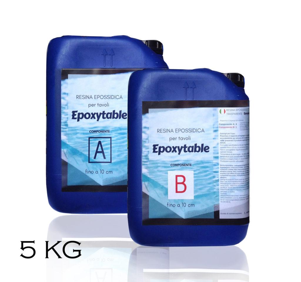 EPOXYTABLE EPOXY RESIN FOR TABLES 5 KG [11,02 LB]