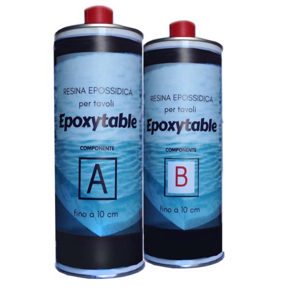 EPOXYTABLE EPOXY RESIN FOR TABLES 1.25 KG [2,75 LB]