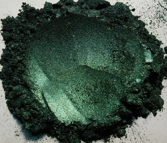 Mica Powder Metallic Green 500 gr [1,10 lb]