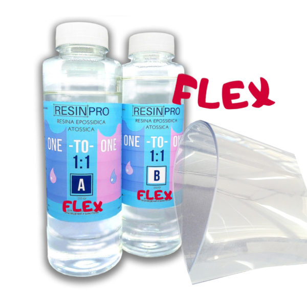 Non-Toxic Epoxy Resin 1:1 Flex 500 GR [1,10 LB]