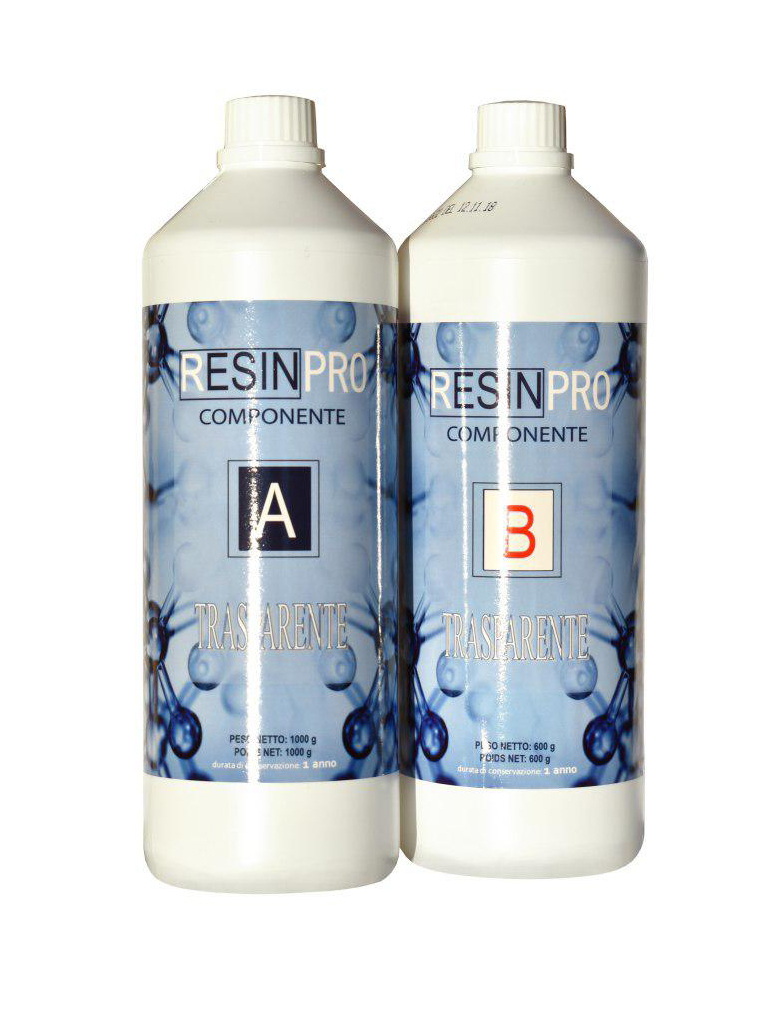 TRANSPARENT EPOXY RESIN 1.6 KG [3,52 LB]