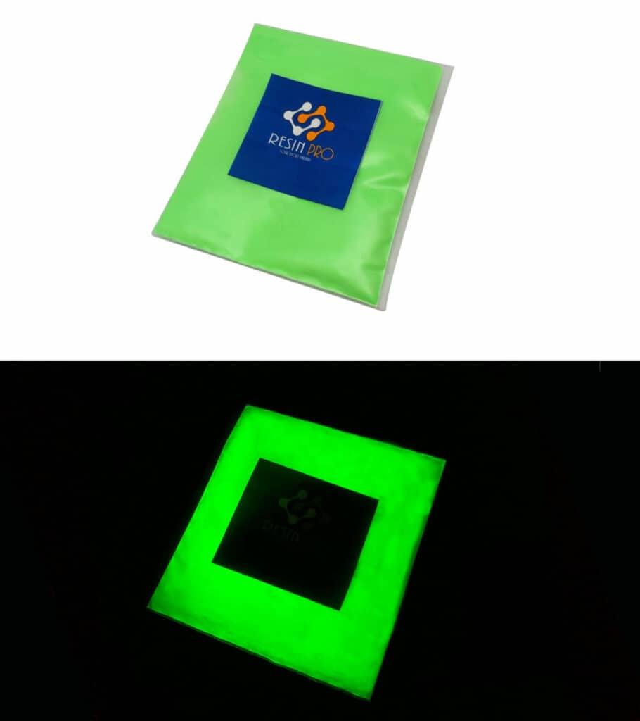 Fluorescent UV pigment