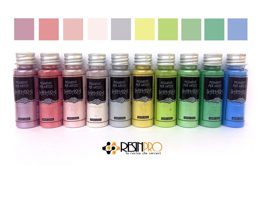 Motion effect - Mica Powder SAHARA Pastel effect Set