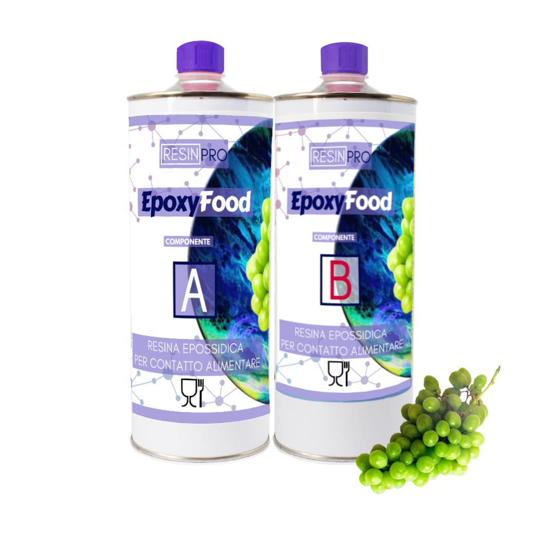 Food Safe - Food contact transparent resin 1.55 kg [3,41 lb]