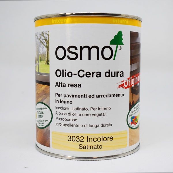 Osmo Hard-Oil-Wax for polishing - Clear Gloss (3011)