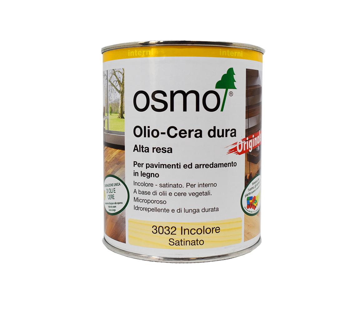 Osmo Hard-Oil-Wax for polishing - Satin/Matt