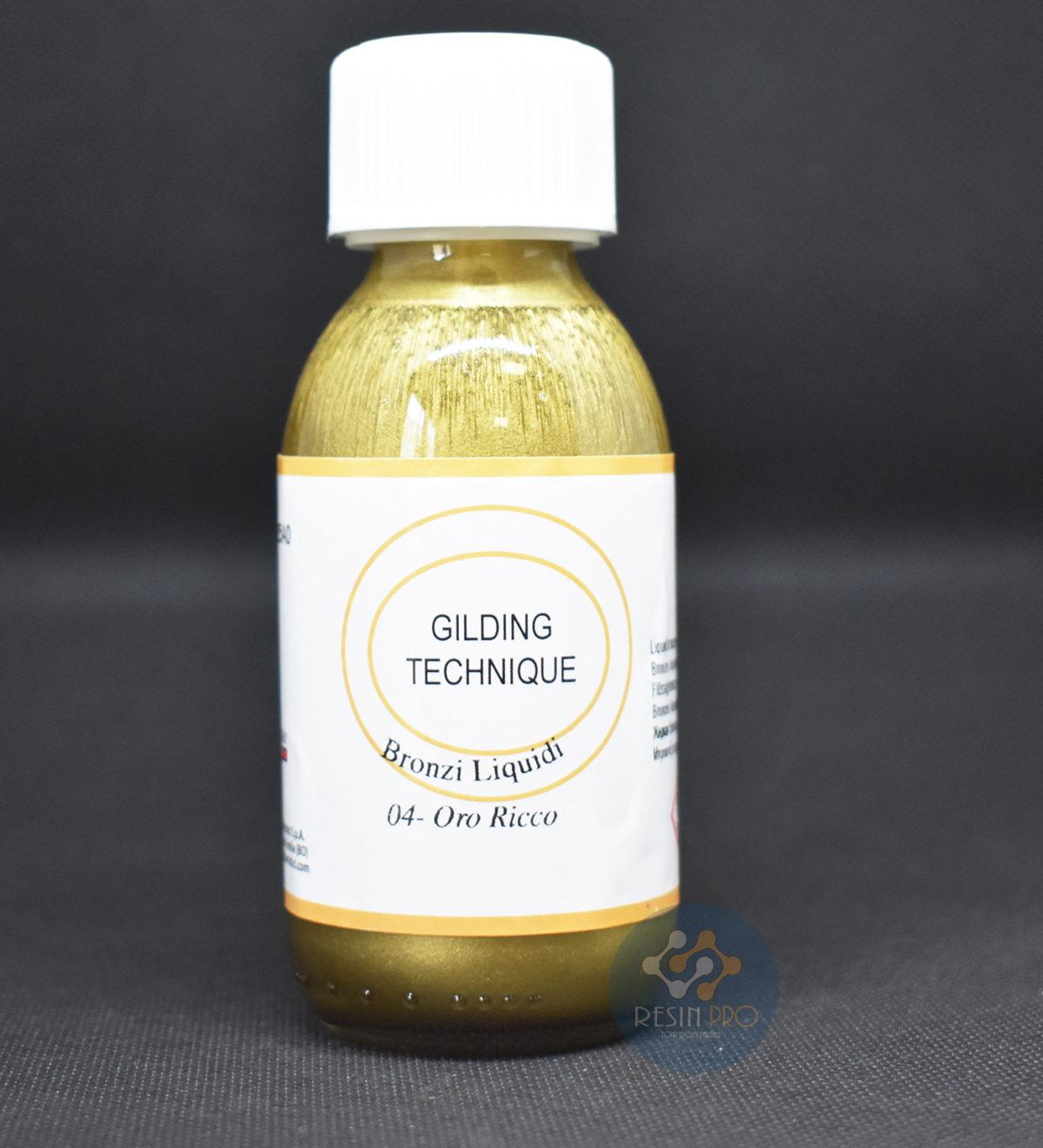 Gilding - Liquid bronze - Ferrario 125 ml [4,39 oz]