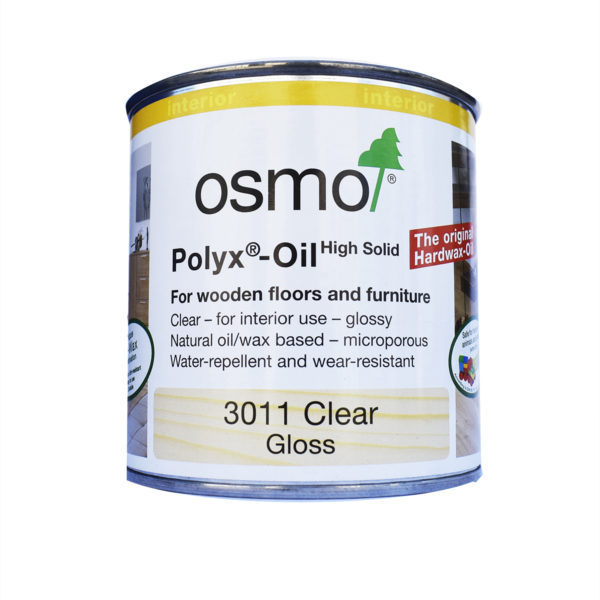 Osmo Hard-Oil-Wax for polishing - Clear Gloss (3011)
