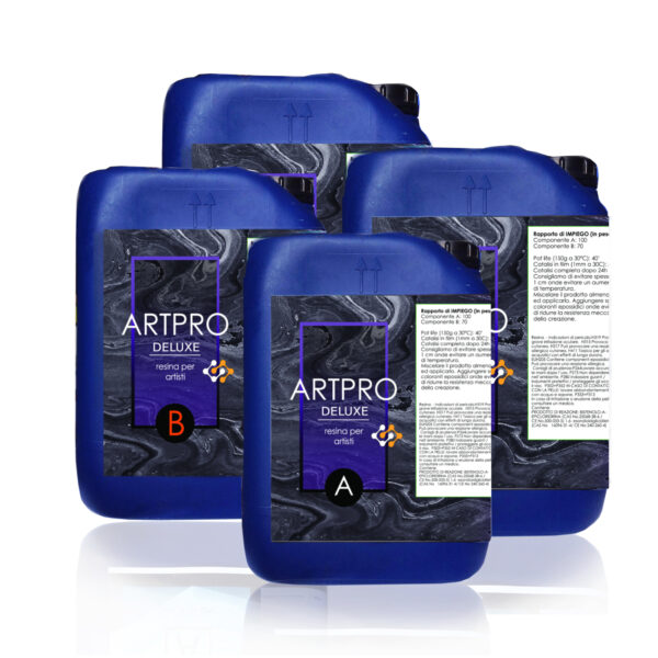 ART PRO DELUXE ULTRA-HIGH VISCOSITY TRANSPARENT RESIN FOR ARTISTS