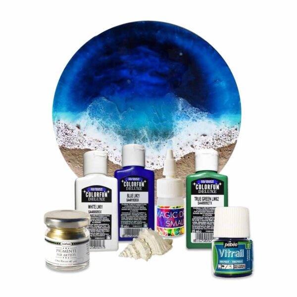 "NEW! ""Ocean Art"" Pigment kit - Sea Wave Effect"