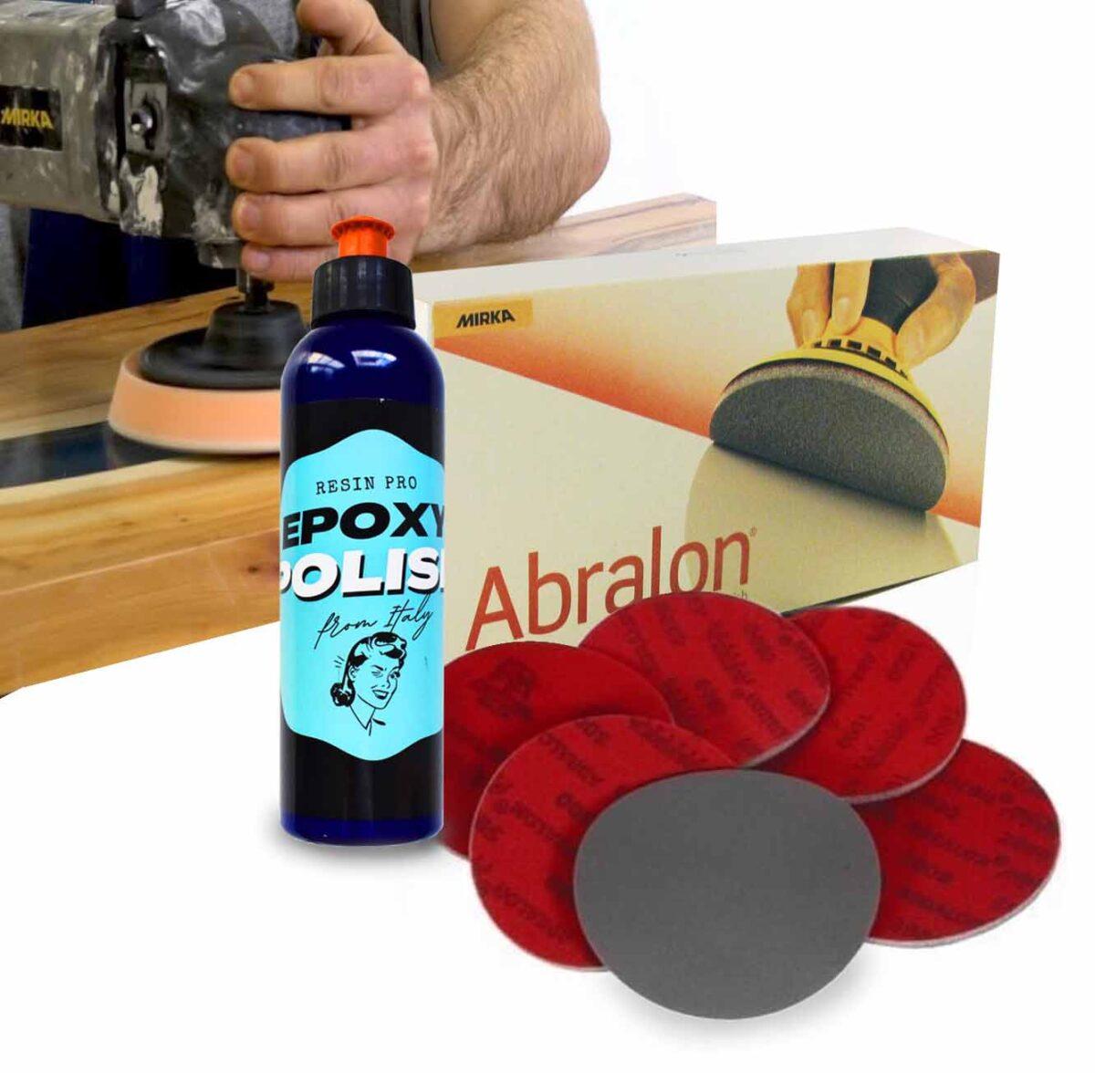 Resin polishing kit