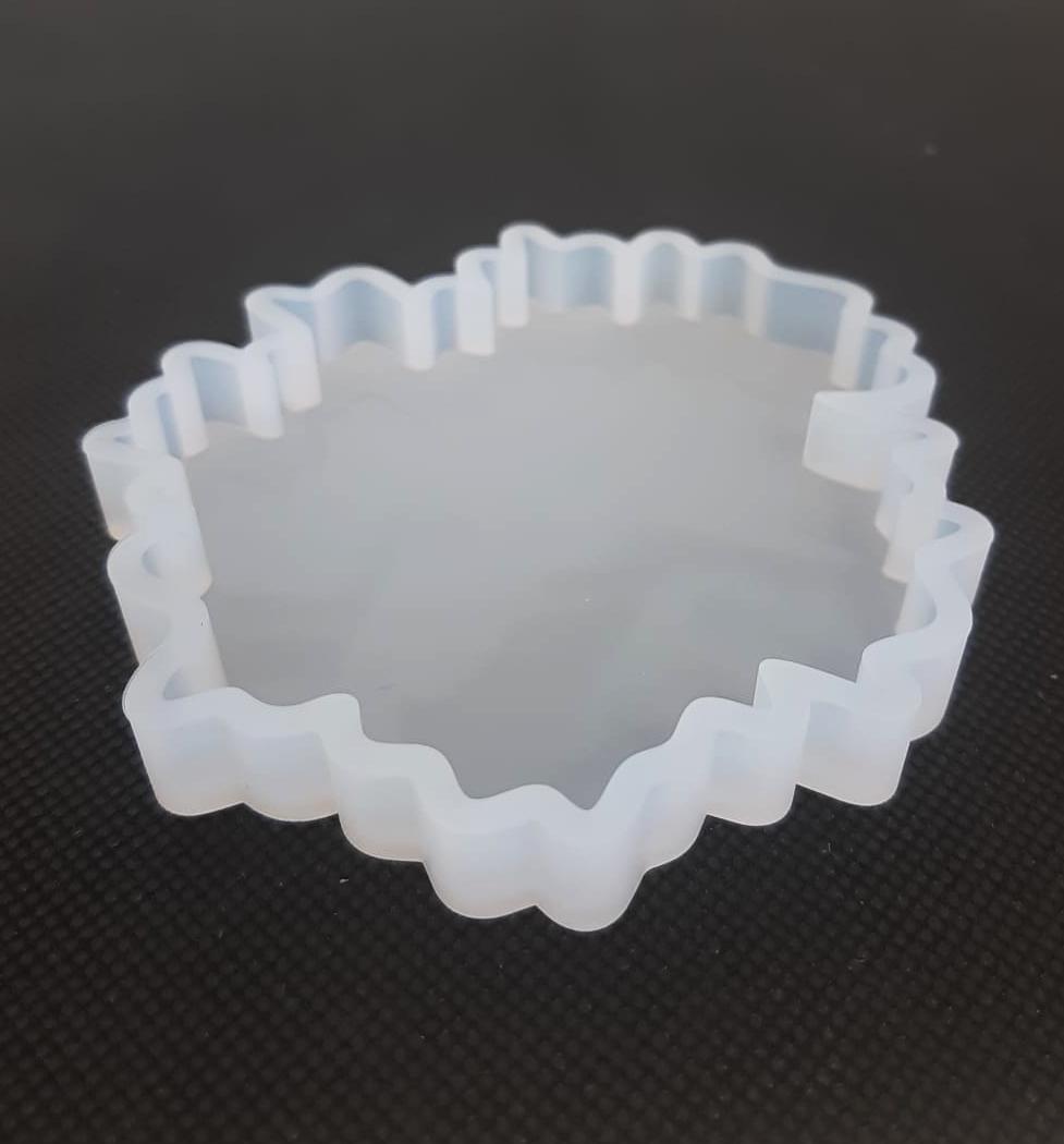 Maple Leaf coaster silicone mold