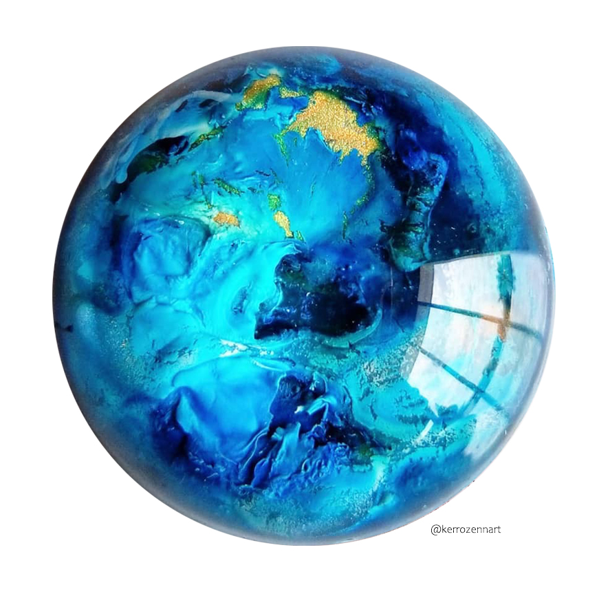 Universal mold Cabochon 15 hemispheres ø 40 mm
