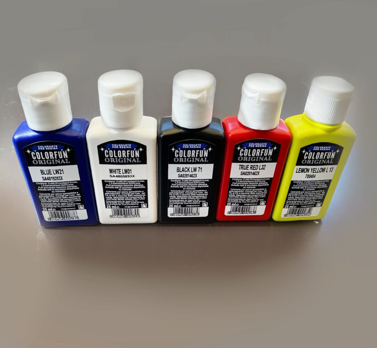 RESIN COLOUR TRANSLUCENT EFFECT 25 ML