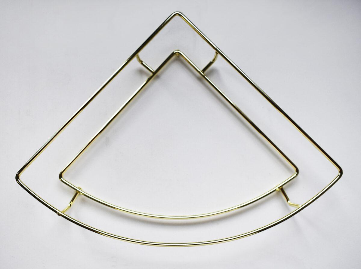 Metal corner tray holder