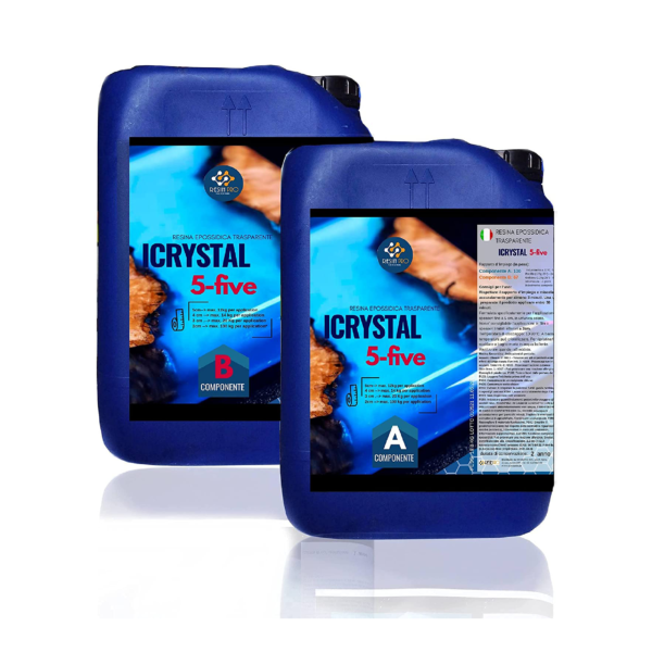 iCrystal 5-FIve FOR TABLES 9 KG [19,84 lb]